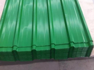 China Color Profiled Steel Sheet on sale