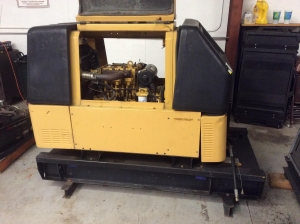 China CAT Olympian Lister Petter Diesel LCW For Parts on sale