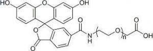 China FITC-PEG-COOH ; FITC-PEG-AA ; Fluorescein-PEG-Acetic Acid on sale