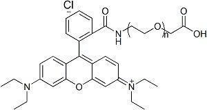 China RB-PEG-COOH ; RB-PEG-AA ; Rhodamine B-PEG-Acetic Acid on sale