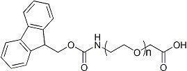 China Fmoc-NH-PEG-COOH ; Fmoc-NH-PEG-AA ; Fmoc-NH-PEG-Acetic Acid on sale