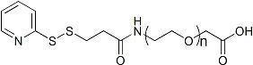 China OPSS-PEG-COOH ; OPSS-PEG-AA ; Ortho-Pyridyldisulfide-PEG-Acetic Acid on sale