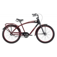 China Bikes Felt Bicycles Antique Archaeology Red Wolfe 3-Speed on sale
