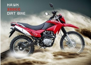 China Dirt Bikes Hawk 250 DLX Enduro on sale