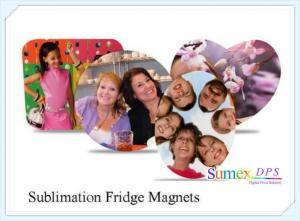 China Sublimation Fridge Magnet on sale