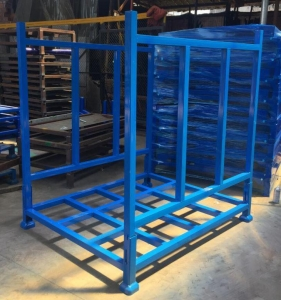 China Folding Stack Rack For Tire Storage on sale