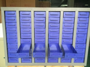 China 75 Drawers Electronic Component Storage Cabinet on sale