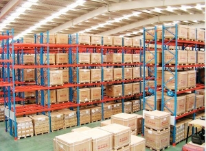 China Warehouse Storage Shelves for Industrial Storage Solutions on sale