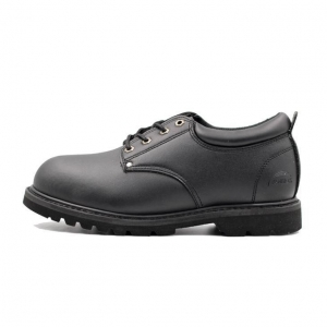 China Smooth Leather Upper Good Quality Goodyear Welt Safety Shoes Manufacturers on sale
