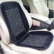 China Wooden Bead Massaging Car / Van Seat Cover - Black on sale