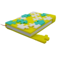 China Silicone puzzle school notebook cover on sale