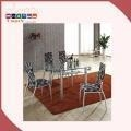 China 8 Seaters Modern Extendable Glass Dining Table For Sale on sale