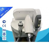Nd Yag Laser + IPL + RF 3 In 1 Hair Removal And Tattoo Removal Machine