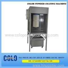China outstanding cartridge filter design lab-style powder coating booth on sale