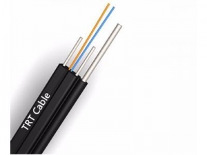 China 1-4 core Fiber to the home aerial drop cable(self support FTTH) on sale