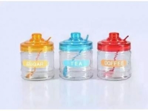 China glass jars for spice on sale