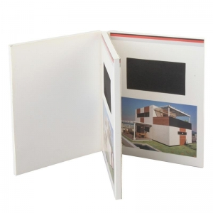 China 5inch Video advertising book on sale
