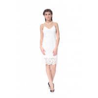 China women sexy dress white lace party dress 2017 new v-neck style string d... on sale