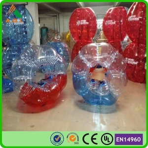 China Hot Sale PVC Bumper Bubble Ball for Soccer on sale