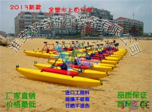 China Hot sale water park rides adult water bike pedal boats for amusement on sale