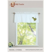 "Embroidery Valance for Windows - 52"" W x 18"" L And Any Size MODEL # 17V0401"