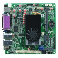 China Intel Atom D525 mini itx motherboard DC12V on sale