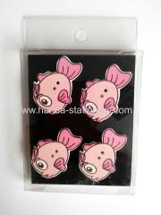 China creative fridge magnet,wooden fridge magnet,memo clip on sale