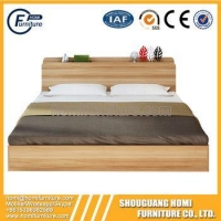 China Modern Style Panel Material Low Height Adult Single Bed on sale