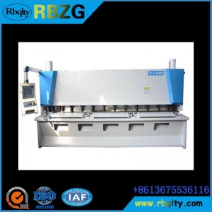 China Press brake machine QC11K Hydraulic CNC Guillotine Shears on sale
