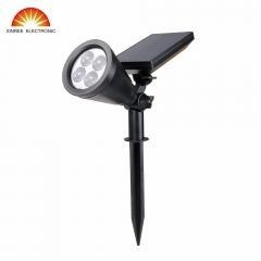 China Xinree SL-50A 4 LED Solar Powered Spotlight for Ga on sale