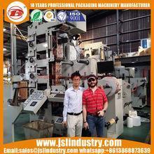 China 6Color Self Adhesive Sticker Label Flexo Printing Press Machine on sale