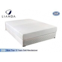 Soft Memory Foam Mattress Topper Comfort for Home Bed , White Bamboo Fabric Mattress Topper