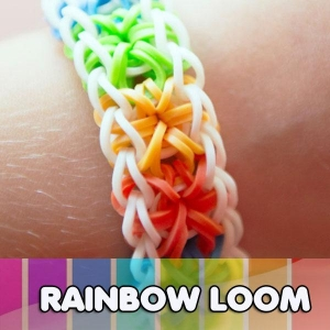 China DIY loom band Silicone diy bracelet on sale
