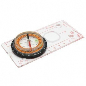 China Baseplate Ruler Map Scale Compass Scouts Camping Hiking on sale