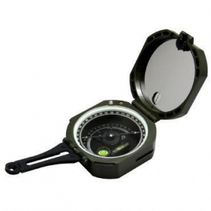 China Green Pocket Transit Plastic Compass for Surveyors Foresters on sale