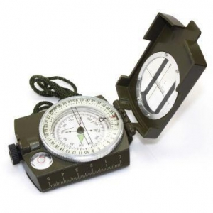 China Pocket Military Army Geology Metal Compass Green Color on sale