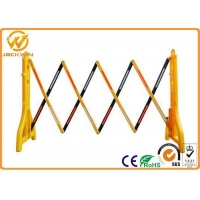 China 2.5 Meter Outdoor Road Traffic Safety Equipment Expandable Plastic Barrier on sale