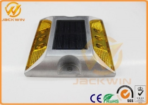 China Double Reflector LED Solar Raised Pavement Marker SRPM For Center & Edge Roadway on sale
