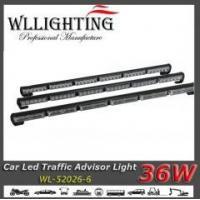 dual color led traffic advisor warning light bar