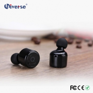 China 2017 New Design True Portable Wireless Headphones Best Rated Bluetooth Earpiece on sale
