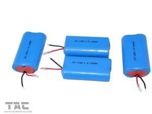 China LFR14505 AA 600mAh 3.2V LiFePO4 Battery Pack with PCB for Flash Light on sale