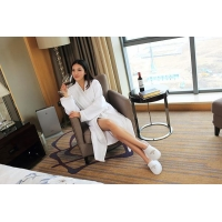 Luxury 5 star waffle weave bathrobe manufacturer