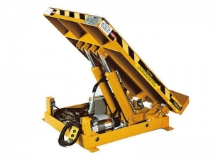 China Turnover table board hydraulic folding work platform on sale