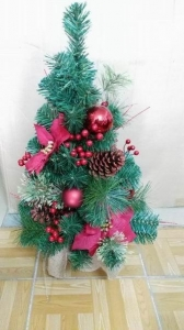 China Artificial Christmas decorative tree on sale