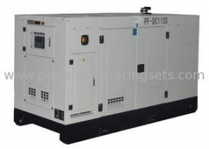 China 100kva Diesel Powered Generator , ATS Industrial Diesel Generators For Home Use on sale