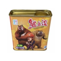 Rectangular Cartoon Candy Tin Box and bulk candy tin