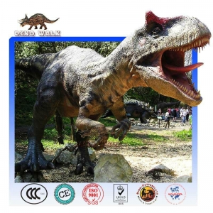 China Amuse outdoor exhibition model life size robot dinosaur on sale