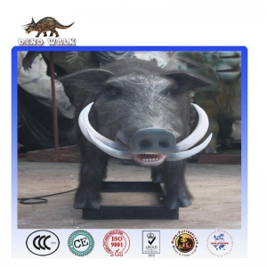 China Life-Sized Animatronic Wild Boar For Hot Sale on sale