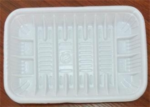 China PP Foam Disposable Food Trays , Food Grade Plastic Trays For Food Packaging on sale