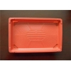 China Customized Size PS Foam Tray , No Harm Plastic Trays For Food Keep Cleanness for sale